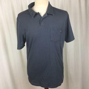 Oakley Men's Medium Pocket Polo Shirt Charcoal
